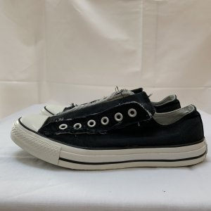Converse Slip-on Sneakers black-white cotton