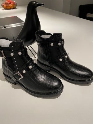 Chucky Chelsea Combat Boots schwarz neu 38