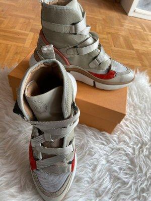 Chloé High top sneaker veelkleurig