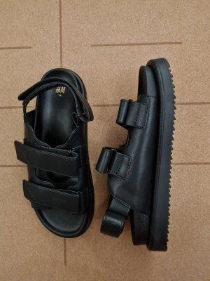 H&M Wygodne sandały czarny