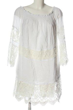 Ciao Milano Długa bluzka biały Elegancki