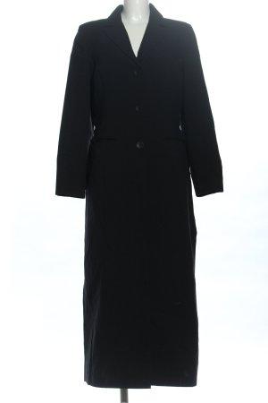 Cibyll Manteau long noir style d'affaires