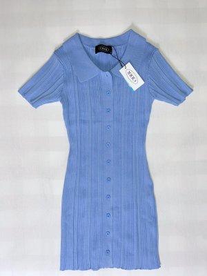 Cider Mini Dress cornflower blue