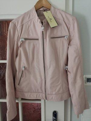Cigno Nero Leather Jacket light pink leather