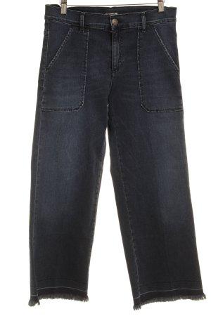 Cimarron Jeans svasati blu scuro-blu stile casual