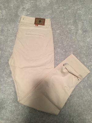 Cimarron Pantalone chino crema-beige chiaro Cotone