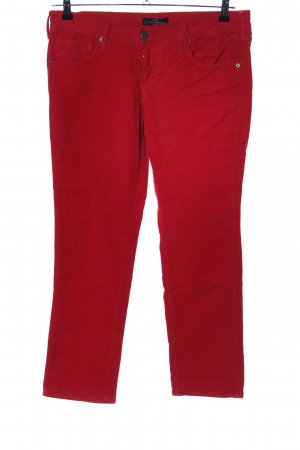 Cimarron Pantalón de pana rojo look casual