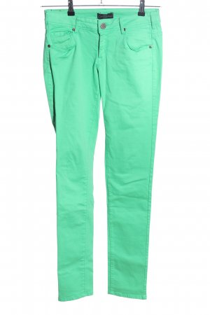 Cimarron Jeans a vita alta verde stile casual