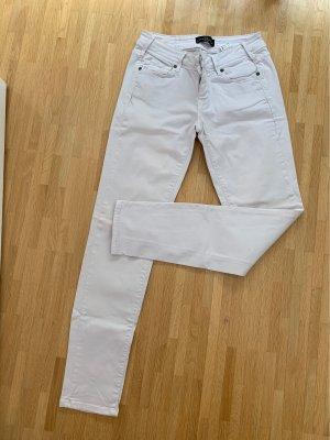 Cimarron Pantalone a vita bassa grigio chiaro