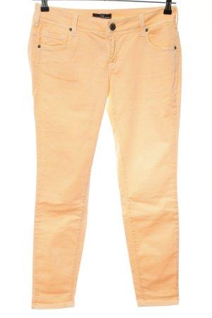 Cimarron Pantalone a vita bassa arancione chiaro stile casual