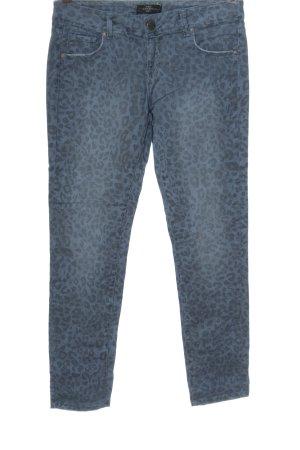 Cimarron Jeans vita bassa blu-nero modello misto stile casual
