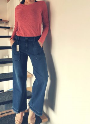 Cimarron Pantalone culotte blu