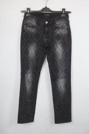 Cimarron Jeans Gr. 25 anthrazit gemustert