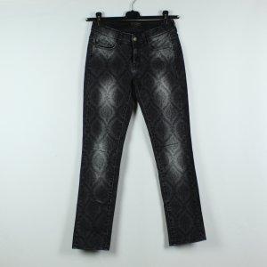Cimarron Jeans a gamba dritta antracite-argento Cotone