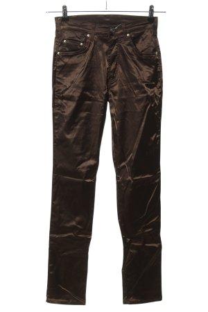 Cimarron Pantalone a sigaretta bronzo stile casual