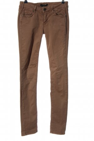Cimarron Pantalone a sigaretta marrone stile casual
