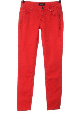 Cimarron Jeans a sigaretta rosso stile casual