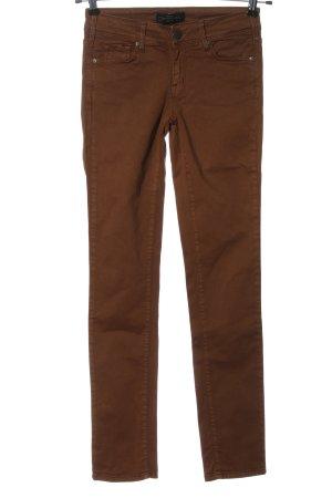 Cimarron Jeans a sigaretta marrone stile casual