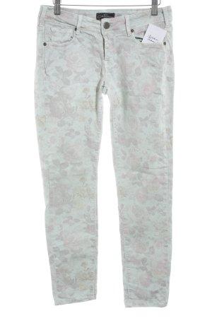 Cimarron Jeans a sigaretta motivo floreale stile casual