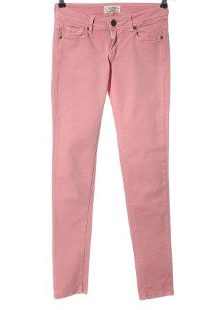 Cimarron Jeans a sigaretta rosa stile casual