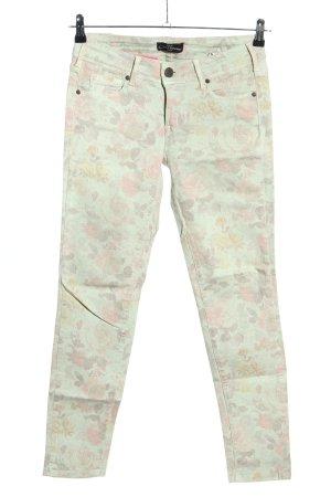 Cimarron Jeans a sigaretta stampa integrale stile casual