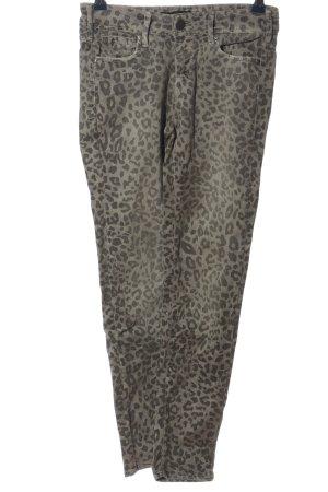 Cimarron Skinny Jeans hellgrau Allover-Druck Casual-Look