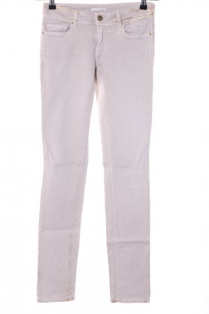 Cimarron Skinny Jeans wollweiß-goldfarben Elegant