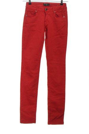 Cimarron Jeans skinny rosso stile casual