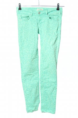 Cimarron Jeans skinny turchese Stampa leopardata stile casual