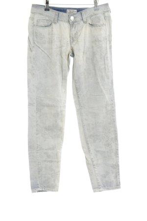 Cimarron Slim Jeans Blumenmuster Metallelemente