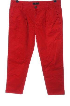 Cimarron Pantalone jersey rosso stile casual