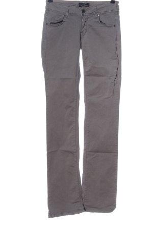 Cimarron Jeans a gamba dritta grigio chiaro stile casual