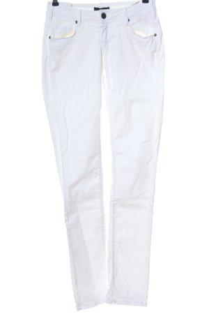 Cimarron Jeans a gamba dritta bianco stile casual