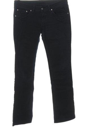 Cimarron Jeans a gamba dritta nero stile casual
