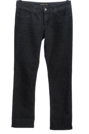 Cindy H Straight-Leg Jeans