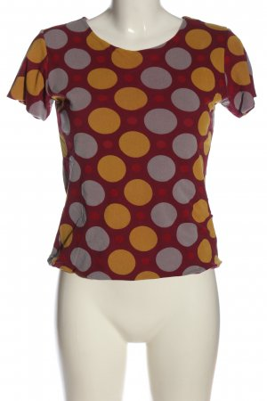cinoue Short Sleeved Blouse allover print casual look