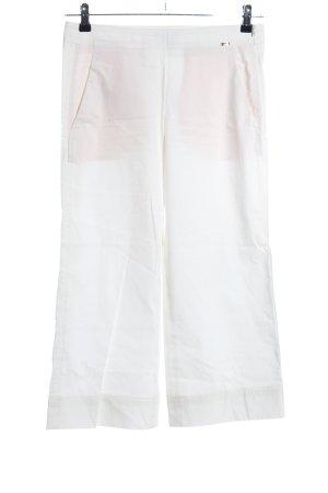 Cinque Spodnie 7/8 biały W stylu biznesowym