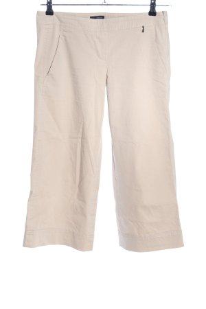 Cinque Spodnie 7/8 w kolorze białej wełny W stylu biznesowym