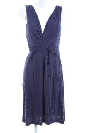 Cinque Robe trapèze bleu élégant