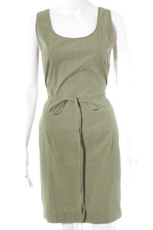 Cinque Robe trapèze vert olive style décontracté