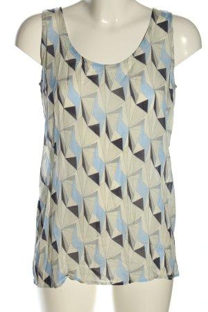 Cinque ärmellose Bluse abstraktes Muster Casual-Look
