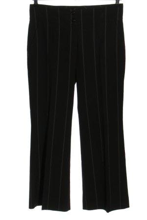 Cinque Anzughose schwarz Streifenmuster Business-Look