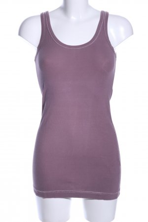 Cinque Basic Top lila Casual-Look