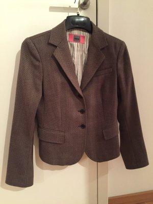 Cinque Blazer de lana marrón-negro-marrón arena Lana