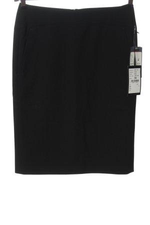 Cinque Falda de tubo negro look casual