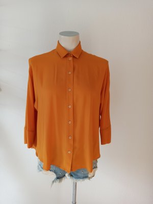 Cinque Bluzka oversize jasny pomarańczowy