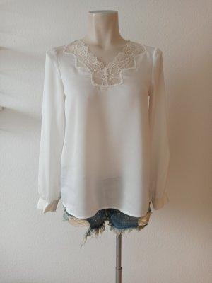 Cinque Koronkowa bluzka biały