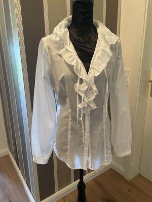 Cinque Long Sleeve Blouse white cotton