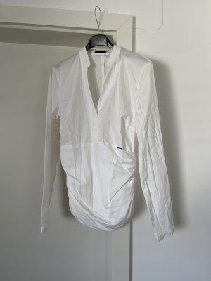 Cinque Bluse Oberteil Langarm Weiß Shirt