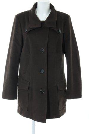 Cinque Heavy Pea Coat brown casual look